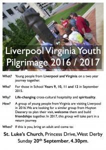 Poster - Virginia Pilgrimage 16:17